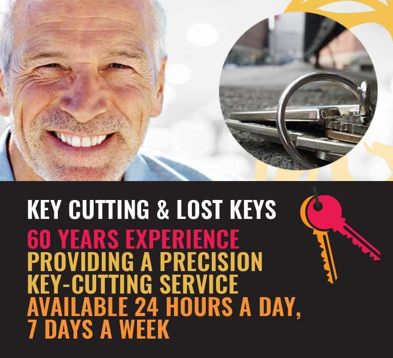 24Hr Key Cutting Service London | Locked Out & Lost Keys London
